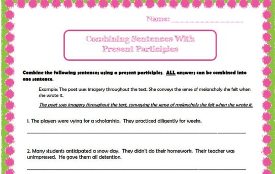 worksheets Archives The Teachers Library – Sentence Combining Worksheets