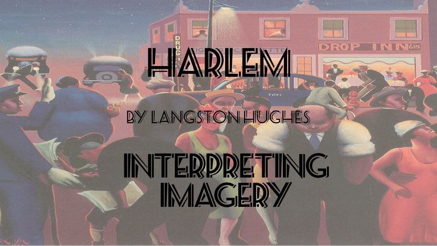 analysis of harlem by langston hughes Langston hughes was one of the most popular writers from 'the harlem renaissance,' a cultural period in the united states during the 1920s 'harlem' is one of langston hughes's most well-known poems, which you'll learn about in this lesson.